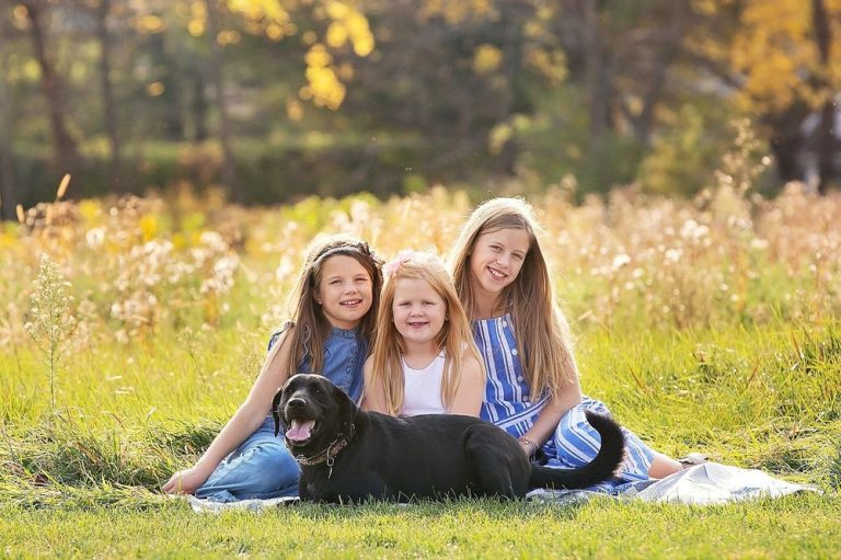 The Girls Wanted Pics With the Dog
